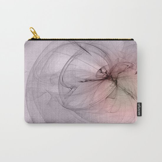 Floating creature abstract fractal Carry-All Pouch