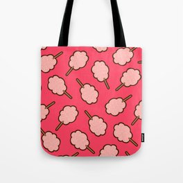 Cotton Candy Pattern Tote Bag