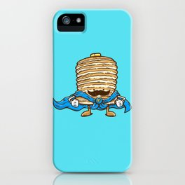 Captain Pancake's Mustache iPhone Case