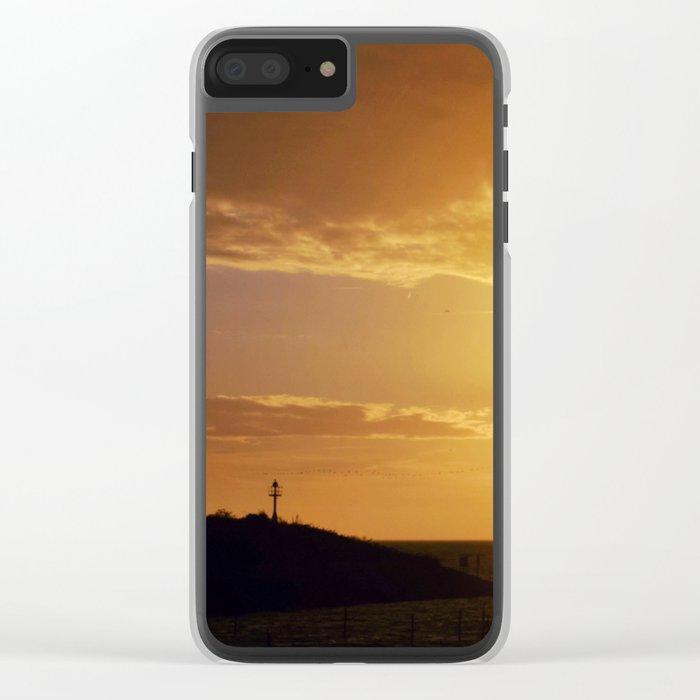 City Sunlight #2 Clear iPhone Case