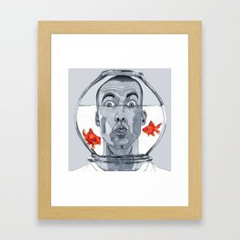 Two Lost Souls Framed Art Print