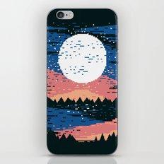 Starry Pixel Night iPhone Skin