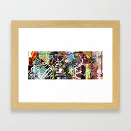 Exquisite Corpse: Round 4 Framed Art Print