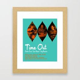 TIME OUT, MARIA MARIA (1) - AUSTIN, TX Framed Art Print