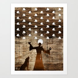 Saint Francis of Assisi Art Print