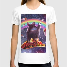 Sloth Riding Llama T-shirt