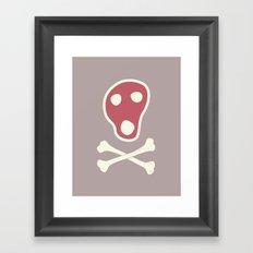 Pirates of Steaks Framed Art Print