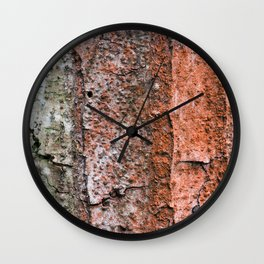 Dragons in the forest Wall Clock