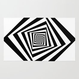 -5º / 85% downscale Rotating square Rug