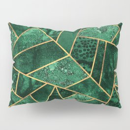 Deep Emerald Pillow Sham