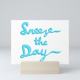 Sneeze The Day Mini Art Print
