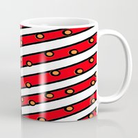 american Mugs featuring American by Mariana
