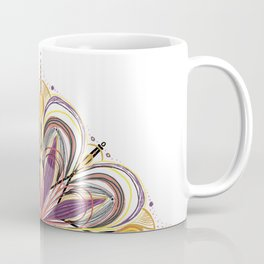 SunFlower Mandala for your Mind Coffee Mug