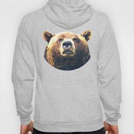 Bear portrait Hoody