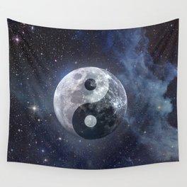 Yin Yang Moon Wall Tapestry