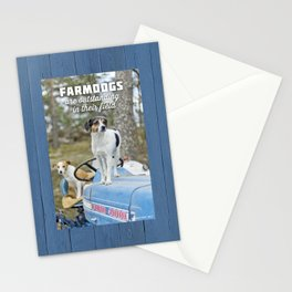 Outstanding Farmdogs Stationery Cards