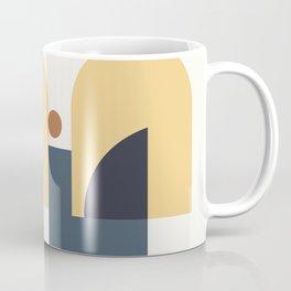 Mid Century Modern Geometric 1 Coffee Mug