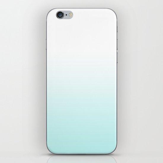 BLUE FADE iPhone & iPod Skin