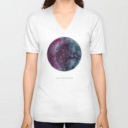 Trust the Universe Unisex V-Neck