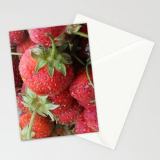 Delicious Strawberries Stationery Cards