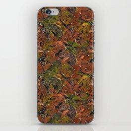 Autumn Foliage in Watercolor. iPhone Skin