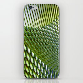 Shiny Green Dimple Abstract iPhone Skin