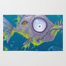 Zombie Fish Rug