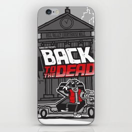 BACK to the DEAD iPhone Skin