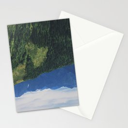 mountains love you Stationery Cards