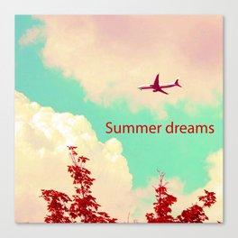 Summer dreams 01 Canvas Print