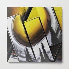 Sun Triptych 1 Metal Print