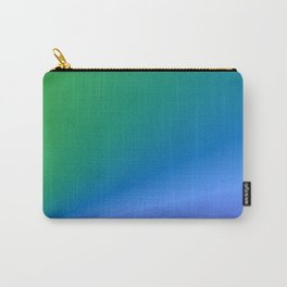 Green to Purple abstract Carry-All Pouch