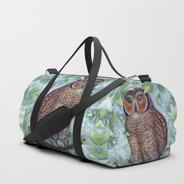 Forest Owl Duffle Bag