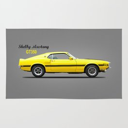 The Shelby Mustang GT350 Rug