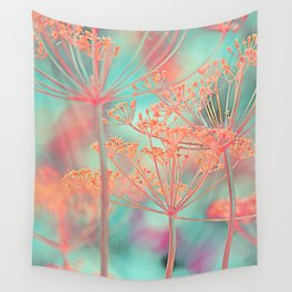 Floral abstract (80) Wall Tapestry