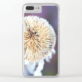 Flower | Flowers | Seed Pod Sphere | Nadia Bonello Clear iPhone Case