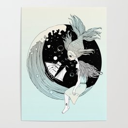 Moonwave (Or the Muse & the Seemingly Eternal Search for Existence in the Sea of Darkness & Dreams) Poster