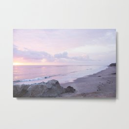 Leo Carrillo Sunset Metal Print
