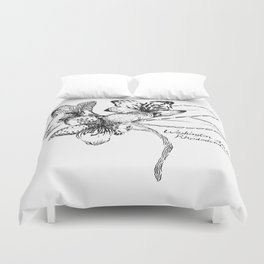 Washington State Rhododendron Duvet Cover