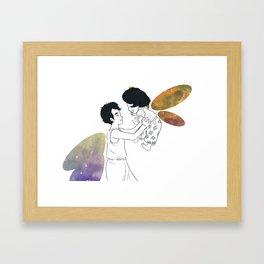 The Fireflies Framed Art Print