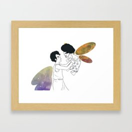 The Fireflies Framed Art Print