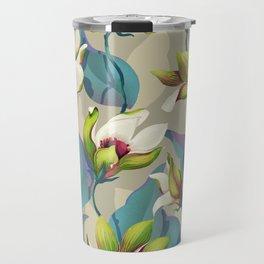 magnolia bloom - vivid version Travel Mug