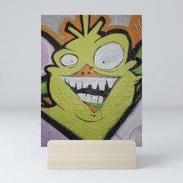 Scary monster. Mini Art Print