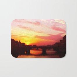 Sunset in Florance.  Bath Mat