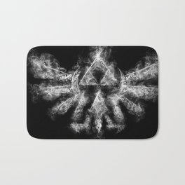 Triforce Smoke Bath Mat