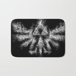 Triforce Smoke Bath Mat