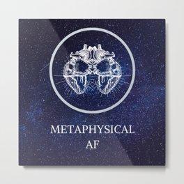 Metaphysical AF Metal Print