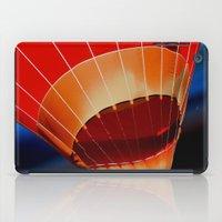 hot air balloon iPad Cases featuring Hot Air Balloon by DistinctyDesign