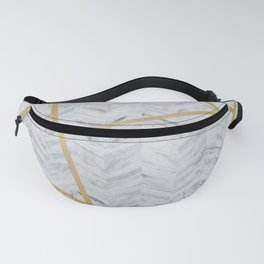 Refined Marble Fanny Pack