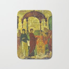 Byzantine The Presentation in the Temple Bath Mat